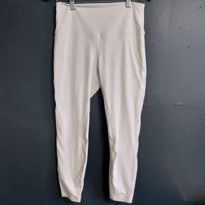 Lululemon Align White Leggings Thicker For Non Transparency Size 10